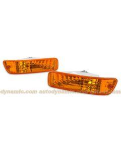 Acura Integra 92-93 J-Spec Amber Bumper Lamps