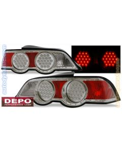 ACURA RSX 02-04 TAIL LIGHTS LED CHROME