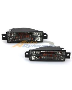 BMW 3 Series E-30 89-91 Smoked Front Bumper Lamps