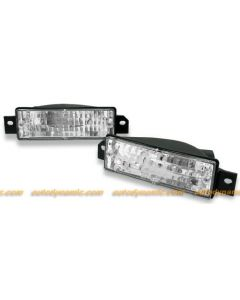 BMW 3 Series E-30 89-91 Clear Front Bumper Lamps