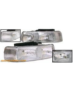 CHEVROLET SILVERADO 99-02 / TAHOE/SUBURBAN 00-06 HEAD LIGHTS DIAMOND
