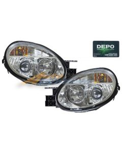 DODGE NEON 03-05 HEAD LIGHTS PROJECTOR CHROME