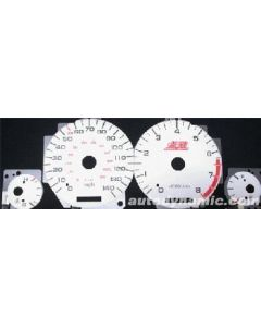 Acura Legend 91-95 Glow Gauges Blue/Green - Automatic/Manual