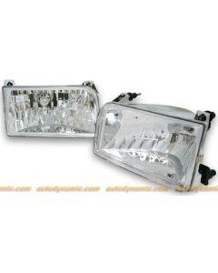FORD F350 92-98 / F150/250/BRONCO 92-96 HEAD LIGHTS DIAMOND