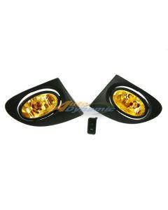 Honda Civic 02-05 Si 3D Hatchback Factory Spec Yellow Fog Light Kit