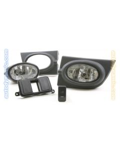 Honda Civic 06-08 4D Sedan Factory Style Clear Fog Light Kit