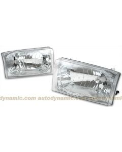 Ford Super Duty Pickup F250/F350 99-04 & Excursion 01-04 Diamond Cut Head Lamp