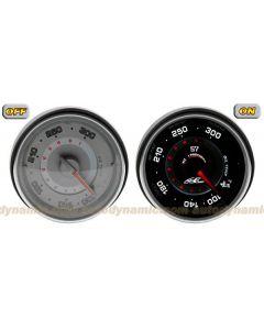 AC S7 Titan Series - 60mm Electrical Oil Temperature Gauge/Meter