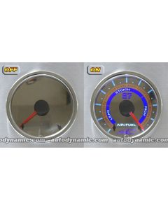 AC S7 Invision C Mirror Faced Series - Air Fuel Ratio Gauge/Meter