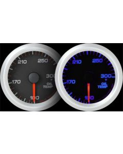 REVO REV2 Electrical Oil Temperature Gauge with Blue LED