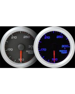 REVO REV2 Electrical Water Temperature Gauge with Blue LED